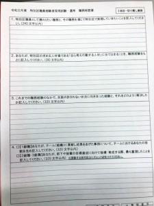 r1特別区経験者職務経歴書